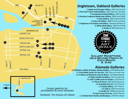 PopUp Gallery is part of the Estuary Art Walk